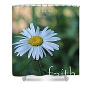 Daisy Faith Shower Curtain