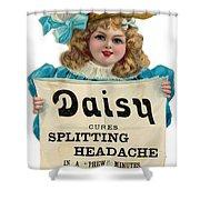 Daisy Headache Cure Shower Curtain