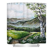 Daisy Lane Shower Curtain