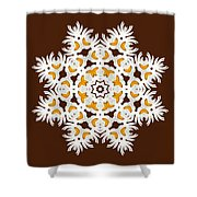 Daisy Mandala  12t Shower Curtain