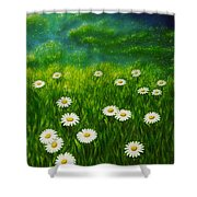Daisy Meadow Shower Curtain