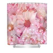 Daisy Sparkles Shower Curtain