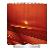 Dakota Sun Shower Curtain