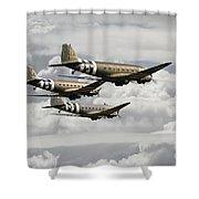 Dakotas Shower Curtain