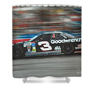 Dale Earnhardt Goodwrench Chevrolet Shower Curtain