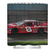 Dale Earnhardt Junior At California Shower Curtain