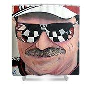 Dale Earnhardt Sr Shower Curtain