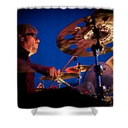 Dale Keeney Of The Fabulous Kingpins Shower Curtain by David Patterson