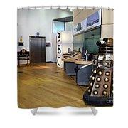 Dalek At The Bbc Shower Curtain