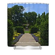 Dallas Arboretum Shower Curtain