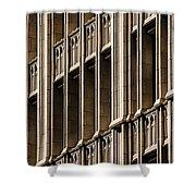 Dallas Architecture Shower Curtain