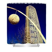 Dallas Museum Tower Shower Curtain