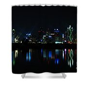 Dallas Reflections Shower Curtain