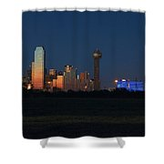 Dallas Sunset Shower Curtain