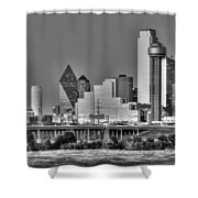 Dallas The New Gotham City  Shower Curtain