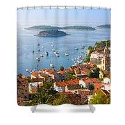 Dalmatian Coast Shower Curtain