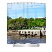 Dam House Shower Curtain
