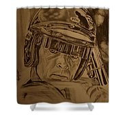 Dan  Gurney Shower Curtain