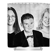 Dana And Curtis And Viktoria Shower Curtain