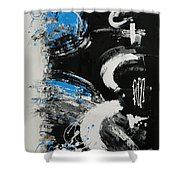 Dance Along The Light Of Day Shower Curtain