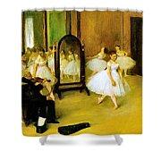 Dance Class 2 Shower Curtain