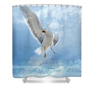Dance For Food Shower Curtain