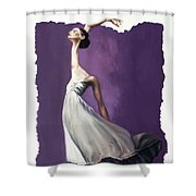 Dance For Him Shower Curtain