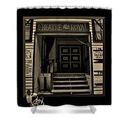 Dance Hall Magic Shower Curtain