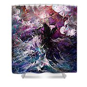 Dance In The Seas Shower Curtain