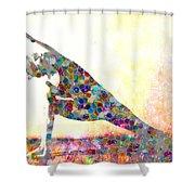 Dance Inspires Shower Curtain