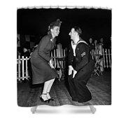 Dance: Lambeth Walk, C1940 Shower Curtain