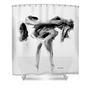 Dance Moves II Shower Curtain
