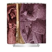 Dance Of Colors Shower Curtain