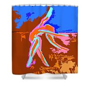 Dance Of Joy 2 Shower Curtain