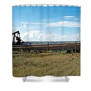 Dance Of Oil Shower Curtain