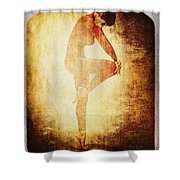 Dance Of The Fool Shower Curtain