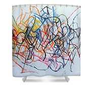 Dance Of The Spirit 1 Shower Curtain