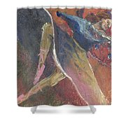 'dance Over Me' Shower Curtain