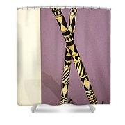 Dance Sticks Shower Curtain