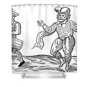Dance The Morris, 1600 Shower Curtain