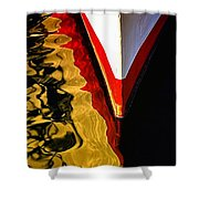 Dance Upon The Bow Shower Curtain