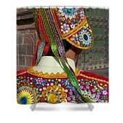 Dancer In Native Costume Peru Shower Curtain