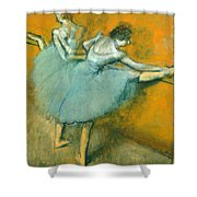 Dancers At The Barre Shower Curtain