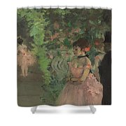 Dancers Backstage Shower Curtain
