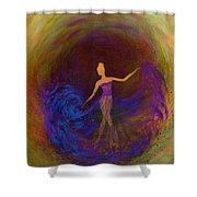 Dancing In The Dark Shower Curtain