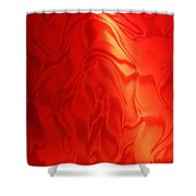 Dancing In The Fire Abstract Shower Curtain