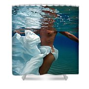 Dancing In The Sea Shower Curtain