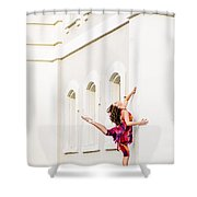 Dancing In The Streets Shower Curtain