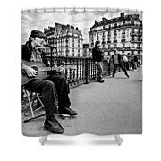Dancing In The Streets Of Paris / Paris Shower Curtain