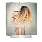 Dancing Nude Shower Curtain